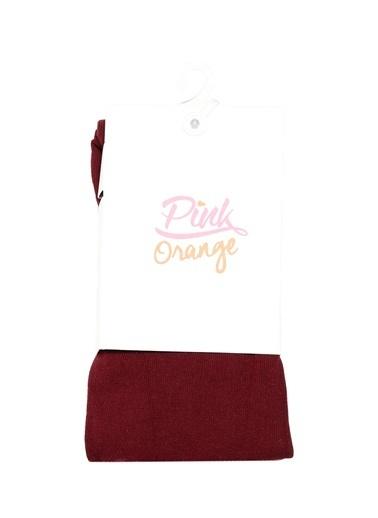 Pink&Orange Çorap Bordo